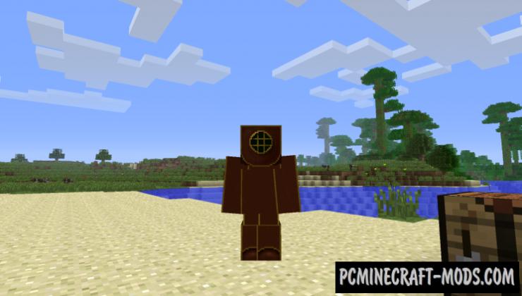 Shipwrecks - Adventure, Gen Mod For Minecraft 1.12.2, 1.7.10