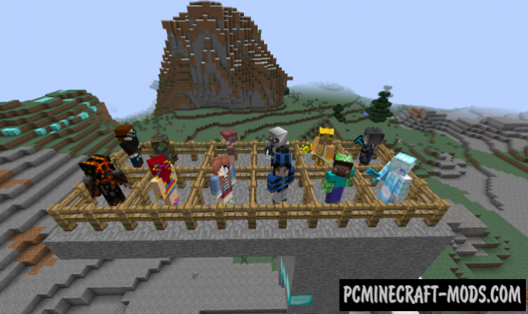Epic People - New Mobs, Magic Mod For Minecraft 1.7.10