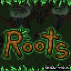 Roots - Magic Adventure Biomes Mod For Minecraft 1.12.2