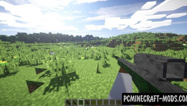 New Stefinus 3D Guns Mod For Minecraft 1.7.10