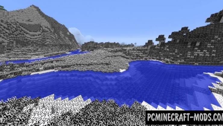2 colors (black & white) 32x Resource Pack For MC 1.8.9