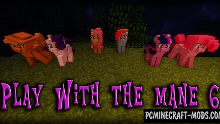 The My Little Pony Model 16x Texture Pack For MC 1.8.9
