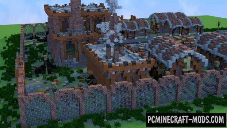 Old factory - Building Map For Minecraft