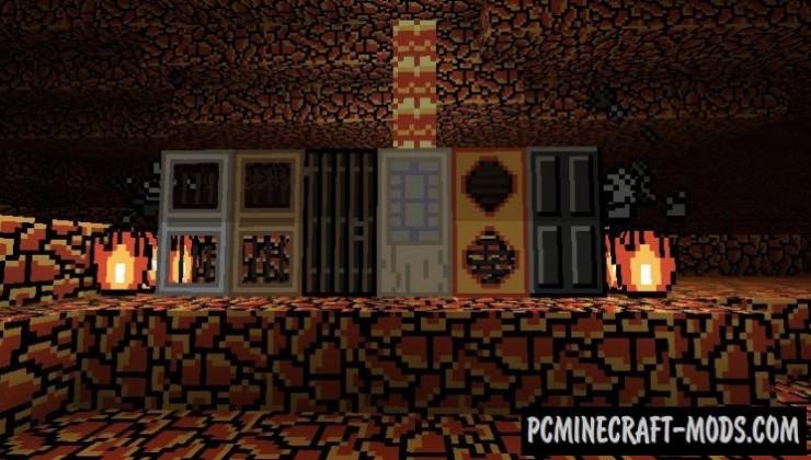Retro 8-bit 8x Resource Pack For Minecraft 1.8.9, 1.7.10