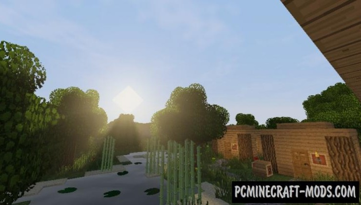 CrapDeshoes Cloud Shader Mod For Minecraft 1.8, 1.7.10