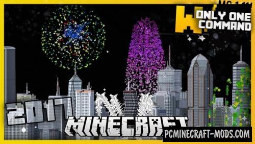 Advanced Fireworks Command Block For Minecraft 1.11.2