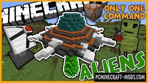 Aliens Command Block For Minecraft 1.10.2