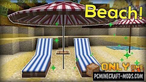 Beach Items Command Block For Minecraft 1.9.4