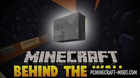 Behind The Wall 2 - Puzzle Map For Minecraft