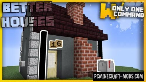 Better House Details Command Block For Minecraft 1.11.2