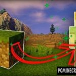 Pushable Blocks Command Block For Minecraft 1.12.2