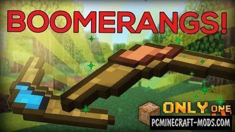 Boomerangs Command Block For Minecraft 1.10.2