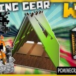 Customizable Tents, Camping Tools Command Block For Minecraft 1.11.2