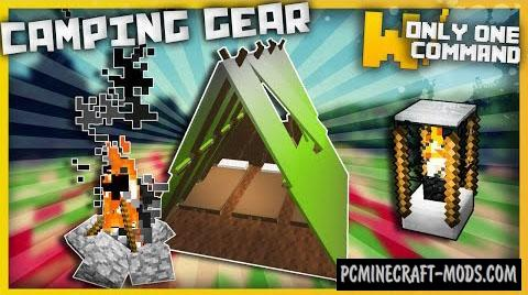 Camping Gear Command Block For Minecraft 1.9.4