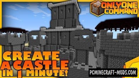 Castle Generator Command Block For Minecraft 1.8.9, 1.8