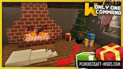 Christmas Decorations Command Block For Minecraft 1.11.2