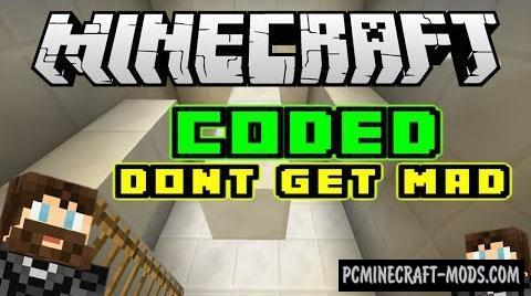 CODED: Don't Get - Puzzle Map For Minecraft