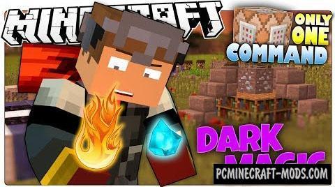 Dark Magic Command Block For Minecraft 1.10.2, 1.9.4