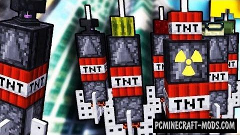 Deadly Missiles Command Block For Minecraft 1.11
