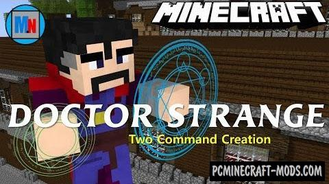Doctor Strange Command Block For Minecraft 1.11