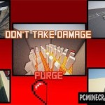Don't Take Damage Map For Minecraft