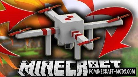 Drones Command Block For Minecraft 1.8.9