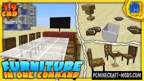 Furniture Command Block by IJAMinecraft For Minecraft 1.9.4, 1.9