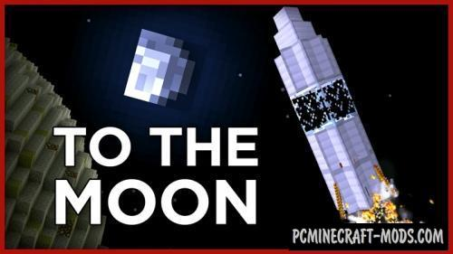 Go to the Moon Command Block For Minecraft 1.11.2
