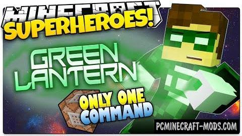 Green Lantern Command Block For Minecraft 1.8.9