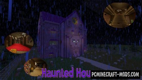 Haunted House Map For Minecraft