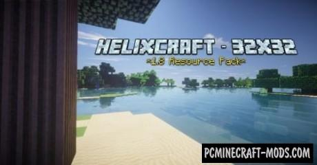 HelixCraft 16x Resource Pack For Minecraft 1.8.9, 1.8