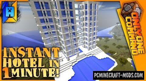 Hotel Generator Command Block For Minecraft 1.11