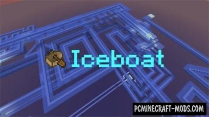 Iceboat - Minigame, Racing Map For Minecraft