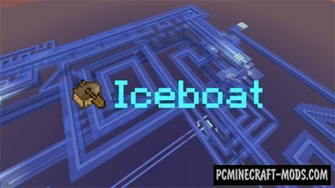 Iceboat Map For Minecraft