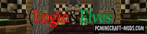 LOGIC&ELVES Map For Minecraft