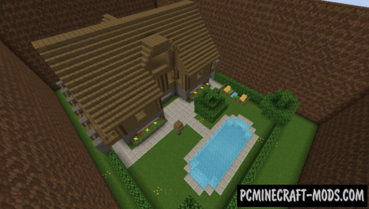 Lucantton 2 - Minigames Map For Minecraft
