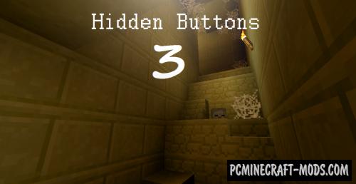 Hidden Buttons 3 - Finding Map For Minecraft