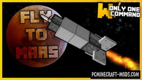 Mars Dimension Command Block For Minecraft 1.11.2