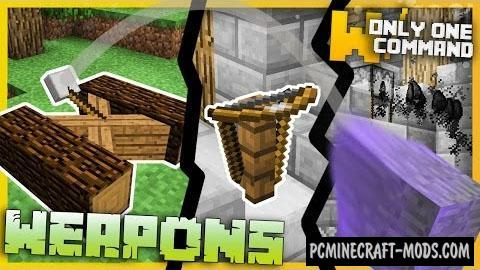 Medieval Weapons Command Block For Minecraft 1.11