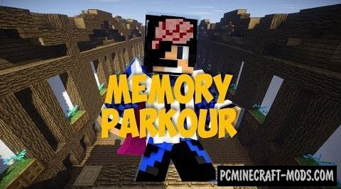 Memory Parkour - Minigame Map For Minecraft