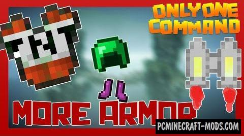 More Armor Command Block For Minecraft 1.9