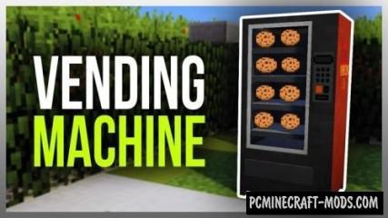 Vending Machine Mod For Minecraft 1.11.2