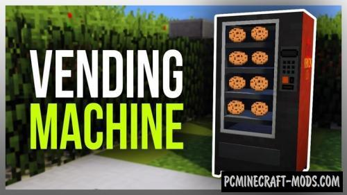 Vending Machine Mod For Minecraft 1.11.2