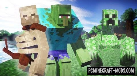 Mutant Creatures Command Block For Minecraft 1.10.2, 1.9.4