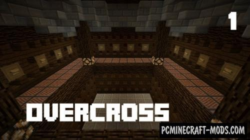 OverCross - Puzzle, Minigame Map For Minecraft