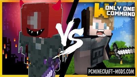 PewDiePie vs Youtube Algorithm Command Block 1.11.2