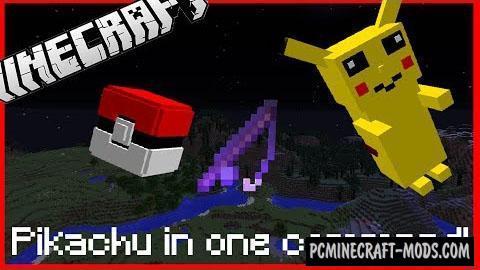 Pikachu Boss Fight Command Block For Minecraft 1.10.2