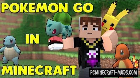 Pokemon GO Command Block For Minecraft 1.10.2