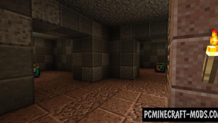 Lucky Block Spiral Mod For Minecraft 1.8.9