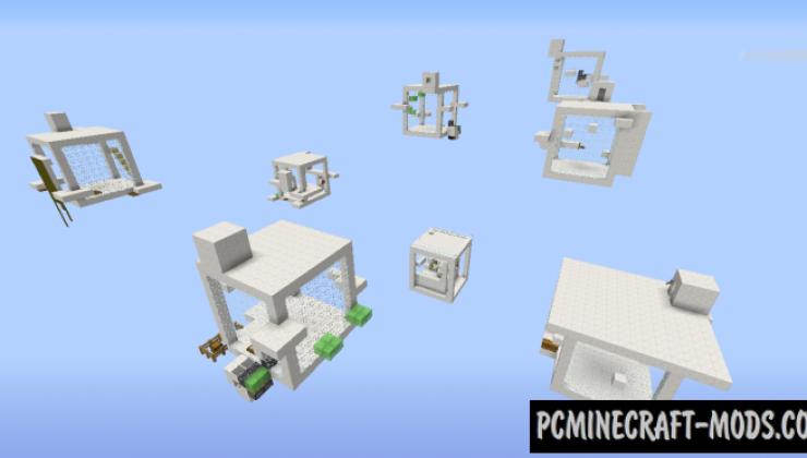 10xCUB - Parkour, Minigames Map For MC